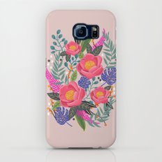 Romantic Blossom, flower print, floral print Galaxy S7 Slim Case