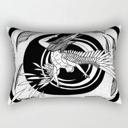 "Inktober, Day 3 ""Roasted"" #inktober #inktober2018 Rectangular Pillow"