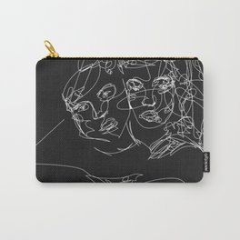 Connection by Sher Rhie Carry-All Pouch