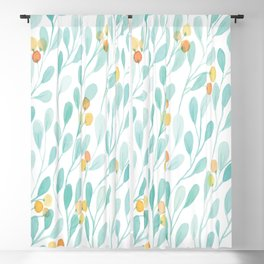 tree leaves Blackout Curtain