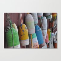 maine Canvas Prints featuring Maine by BuffaloFencing