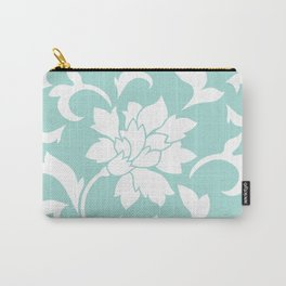 Oriental Flower - Limpet Shell Carry-All Pouch