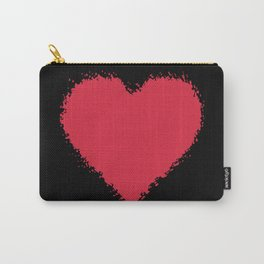 Big Heart Love Valentine's Day Carry-All Pouch