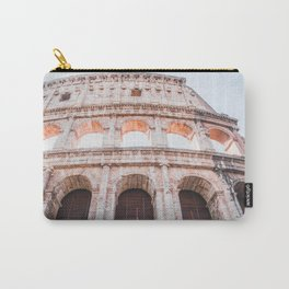 Roman Colosseum   Europe Italy Rome Architecture Ancient Ruins City Photography Carry-All Pouch