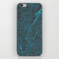 berlin iPhone & iPod Skins featuring Berlin by Map Map Maps