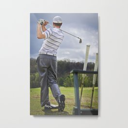 The Perfect Swing Metal Print