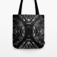 black widow Tote Bags featuring Black Widow by SwanniePhotoArt