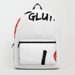 I Love Gluten Free Backpack