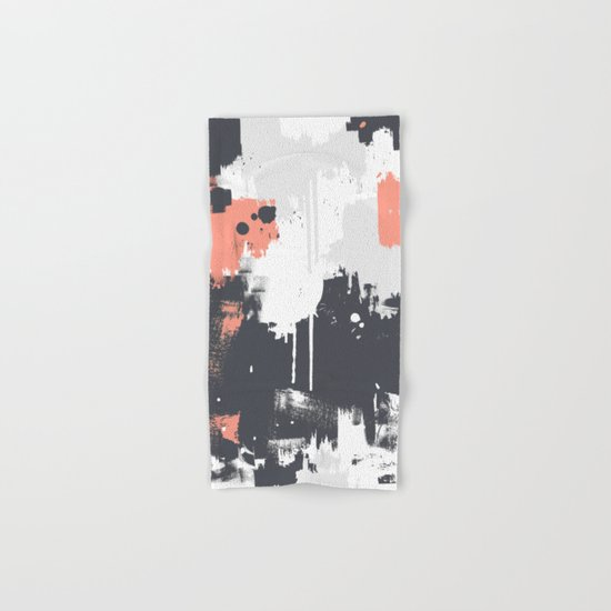 Abstract Paint Pattern 01 Hand & Bath Towel