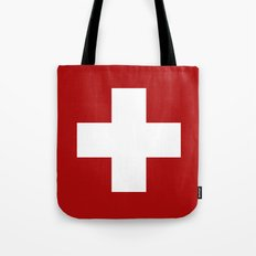 Swiss Cross Tote Bag