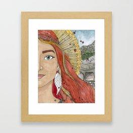 Joanna Framed Art Print