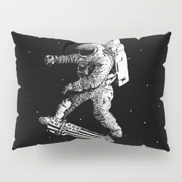 Kickflip in space Pillow Sham