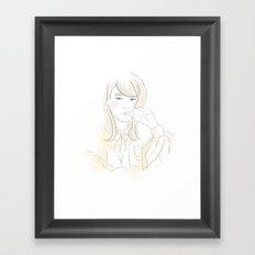 Françoise Hardy Framed Art Print