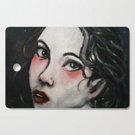 The Girl from a Wish Cutting Board