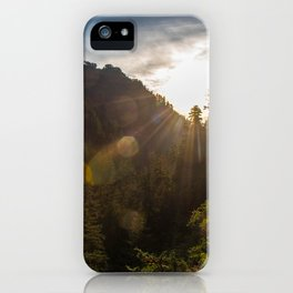 Valley Sunset - Oregon iPhone Case