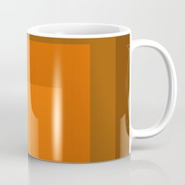 Block Colors - Orange Coffee Mug