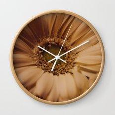 Antique Daisy Wall Clock