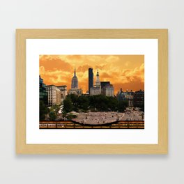 The Union Square - New York Framed Art Print