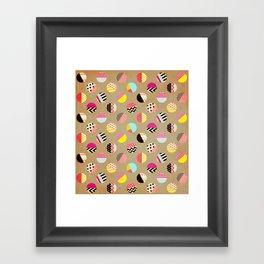 Fun Circle Framed Art Print