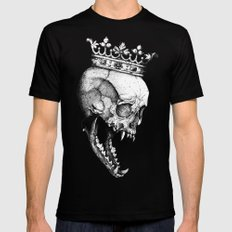 Ancients Kings : The Wolf Black X-LARGE Mens Fitted Tee
