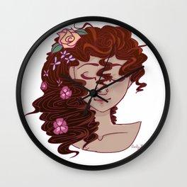 Spring Maiden Wall Clock