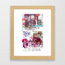 Infectiously Nice Doooooodle Framed Art Print