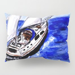 Sailing Away Pillow Sham