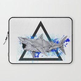 Paper Shark- Wild World of Paper Series Laptop Sleeve
