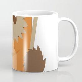 Cartoon Ewok Coffee Mug