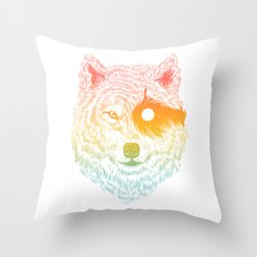 I Dream in Solitude Throw Pillow
