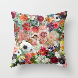 Edem garden 13 Throw Pillow