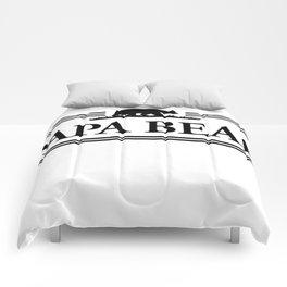 Papa bear Comforters