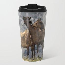 Montana Horses Travel Mug