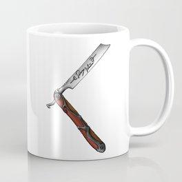 Barbers Vintage Straight Edge Razor Coffee Mug