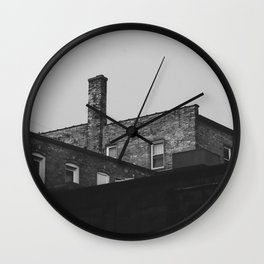 Layers of Architecture Wall Clock