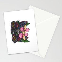 Capricious Beauty (Botanical Bliss) Stationery Cards