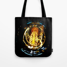 Industrial Filament Light Tote Bag