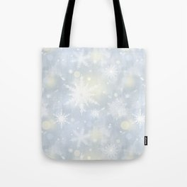 Snowflakes. Tote Bag