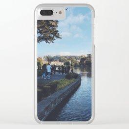 Walks Clear iPhone Case