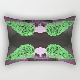 Fireball - RG_Glitch Series 2 Rectangular Pillow