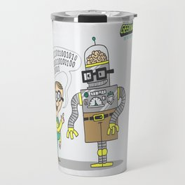 The Geekmaster 5000 ...and a robot Travel Mug