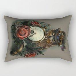Sir Owl. Steampunk Rectangular Pillow