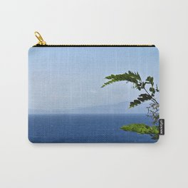 Leaves and Mountains Carry-All Pouch