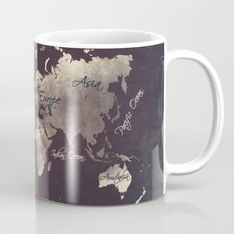 world map 18 Coffee Mug