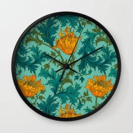 Garden Ornament Wall Clock