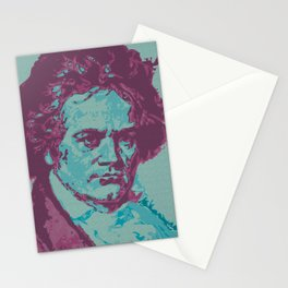 Roll Over Beethoven Stationery Cards