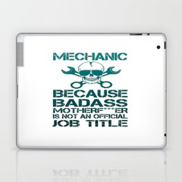BADASS Mechanic Laptop & iPad Skin