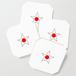 Flag of japan 4 Coaster