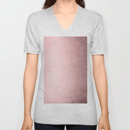 Simply Rose Quartz Elegance Unisex V-Neck