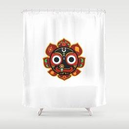 Sri Jagannatha Shower Curtain